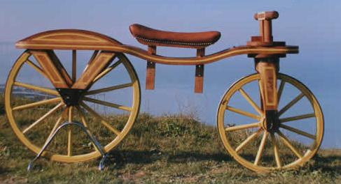 qui a invente la 1er bicyclette